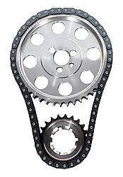 JP PERFORMANCE #5985-LB05 SBM Billet Double Roller Timing Set