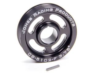 JONES RACING PRODUCTS #CS-5102-F Crank Pulley Serpentine 3.75in