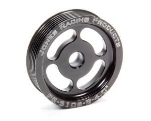 JONES RACING PRODUCTS #PS-5106-B-4 Power Steering Pulley Serpentine 4in