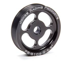 JONES RACING PRODUCTS #PS-5106-B-4.500 Pulley 4.500 6 Groove Serpentine