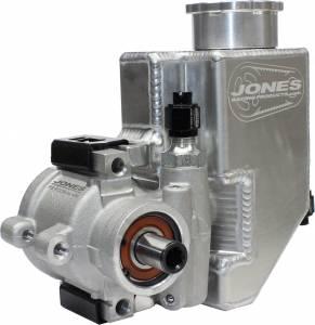 JONES RACING PRODUCTS #PS-9008-AL-AR Alum Mini P/S Pump with Alum Reservoir