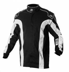 K1 RACEGEAR #21-TR2-NW-6XS Jacket Triumph 2 Black 6-XS SFI 1