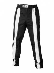 K1 RACEGEAR #22-TR2-NW-XL Pant Triumph 2 Black X-Large SFI 3.2A/1