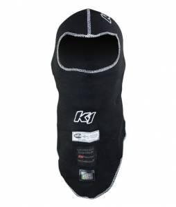 K1 RACEGEAR #26-FHS-N Balaclava Head Sock Flex Black