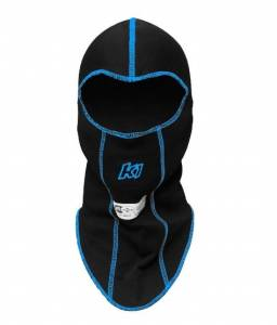 Balaclava Head Sock Black Single Layer