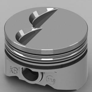 SBF Flat Top Piston Set 4.030 Bore -6.5cc