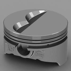 KB PERFORMANCE PISTONS #KB122.040 SBC Flat Top Piston Set 4.040 Bore -7cc