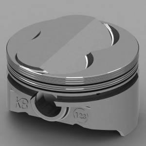 KB PERFORMANCE PISTONS #KB123.030 SBC Domed Piston Set 4.030 Bore +3.25cc