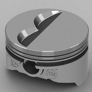 KB PERFORMANCE PISTONS #KB128.030 SBC Flat Top Piston Set 4.155 Bore -7cc