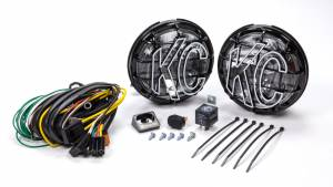 KC HILITES #151 Apollo Pro 6in Light Kit Driving Beam Halogen
