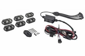 KC HILITES #339 CRL 6 PC RGB Rock Light Kit