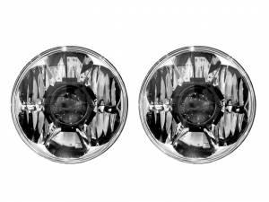 KC HILITES #42341 Headlight Gravity LED Pr o 7in DOT Jeep JK 07-15