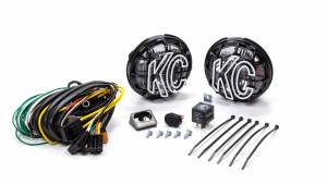 KC HILITES #451 Apollo Pro 5in Light Kit Driving Beam Halogen