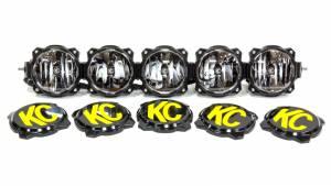KC HILITES #91306 Pro6 Gravity LED Light Bar 5 Light 32in