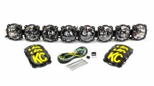 KC HILITES #91308 Pro6 Gravity LED Light Bar 8 Light 50in