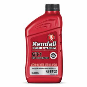 KENDALL OIL #1081219 Kendall 5w30 Oil GT-1 High Performance