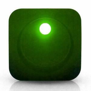 Square Framed LED Green