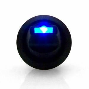 Lever Style LED Round Frame Blue
