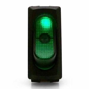KEEP IT CLEAN #KICSW30G Illuminated Rocker 4 Green