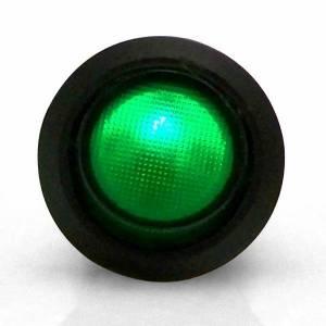 KEEP IT CLEAN #KICSW32G Illuminated Rocker 6 Green