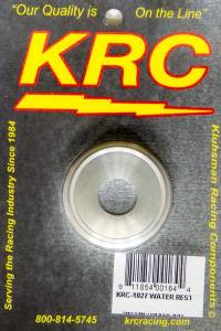 KLUHSMAN RACING PRODUCTS #KRC-1027 Water Restrictor Alum