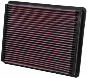 K AND N ENGINEERING #33-2135 99-UP GM P/U 6.0/6.6/8.1 Replacement Air Filter