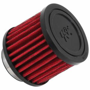 K AND N ENGINEERING #62-1450 1.5in Breather No Shield Rubber Top