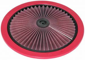 K AND N ENGINEERING #66-1401XR 14in X-Stream Flow Top Red