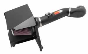 K AND N ENGINEERING #77-3076KTK 11-13 GM P/U 2500HD 6.0L Metal Air Intake System