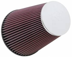 K AND N ENGINEERING #RC-5046 Universal Air Filter 6inFLG 7-1/2inB 4-1/2inT