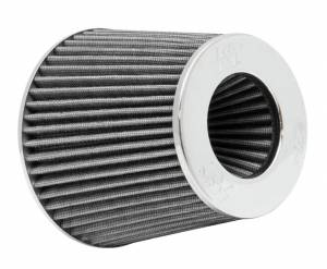 K AND N ENGINEERING #RG-1001WT Universal Clamp On Air Filter White