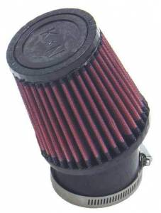 K AND N ENGINEERING #SN-2530 QM Cone Air Filter 2-7/16 Clamp On
