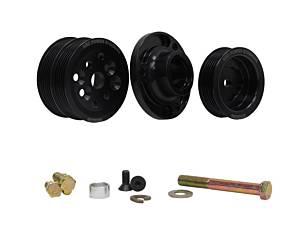 KRC POWER STEERING #KRC 36351500 Serpentine Pulley Kit w/SBC Head Mount