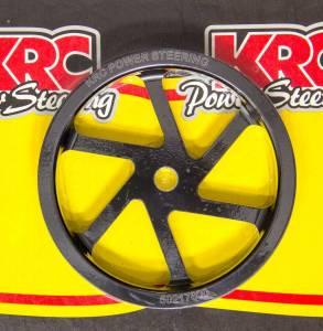 KRC POWER STEERING #KRC 50217600 Pulley 6.0in Aluminum Serpentine Std. Offset