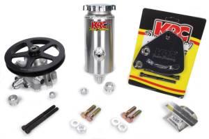 KRC POWER STEERING #ESP 19010115 Power Steering Kit SBC Block Mnt 6in V-Belt