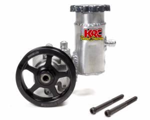 KRC POWER STEERING #ESP 19620100 P/S Pump Elite w/ 4.2in 6 Rib Pulley w/Reservoir