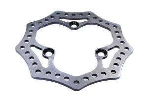 KING RACING PRODUCTS #2465 Brake Rotor Steel LF 10.25 Diameter Scalloped
