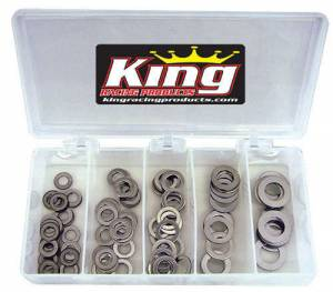 KING RACING PRODUCTS #2720 Stainless Washer Kit .030 145pc