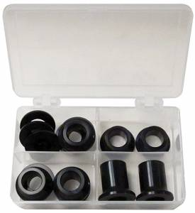 KING RACING PRODUCTS #2854 Billet Aluminum 1/2in Spacer Kit Black