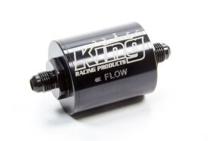 KING RACING PRODUCTS #4300 Fuel Filter Short -6 Stainless