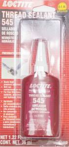 LOCTITE #492145 Thread Sealant 545 36ml/ 1.22oz Pneumatic/Hydrlic