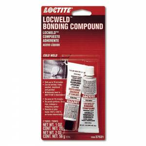 LOCTITE #495540 Locweld Bonding Compound 2pk 1oz Tube