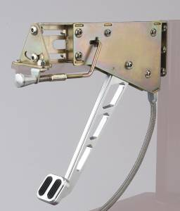 LOKAR #EFB-9003 Foot Brake W/Slots&rub