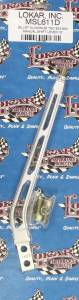 LOKAR #MSL611D Shift Lever TKO 500-600 Aluminum 10in Brushed