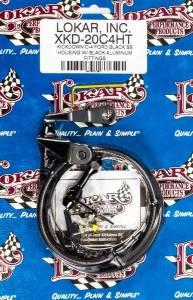 LOKAR #XKD-20C4HT Black Kickdown Kit Ford C4