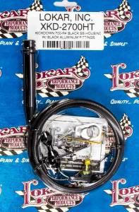 LOKAR #XKD-2700HT Black Kickdown Kit GM 700R4