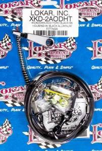LOKAR #XKD-2AODHT Black Kickdown Kit Ford AOD