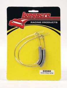 LONGACRE #52-32500 Throttle Spring 2 Pack