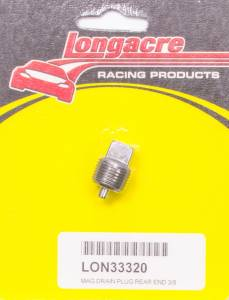 LONGACRE #52-33320 Magnetic Drain Plug 3/8in NPT