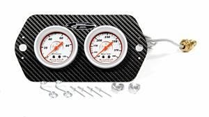 LONGACRE #52-44421 Sprint Car 2 Gauge Panel WT/ OP